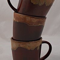 kubek ceramiczny rdza