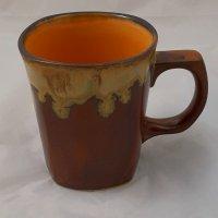 kubek ceramiczny brązowy