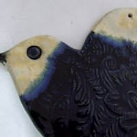 ceramika bieszczadzka ptaszek